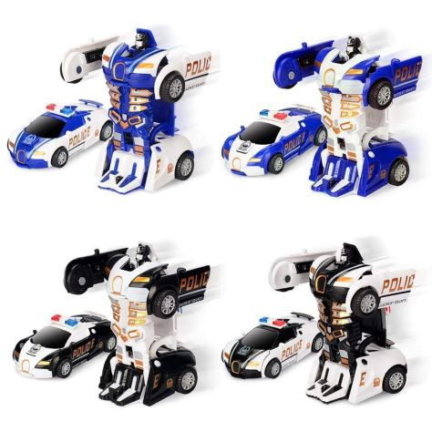 Robot Deformation Car Model Toy 1