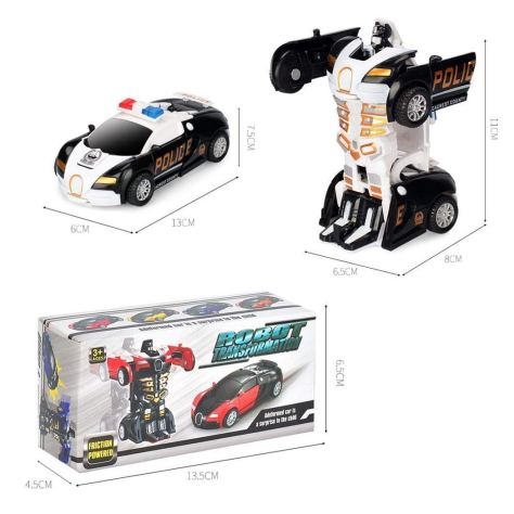Robot Deformation Car Model Toy 2