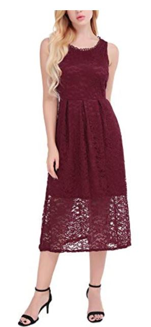 Women's Sleeveless Floral Lace Elegant.JPG