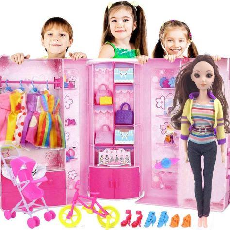 119pcs Doll Clothes Set 1