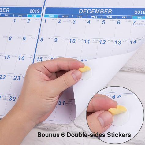 2019 Calendar - Yearly Full Wall Calendar 1