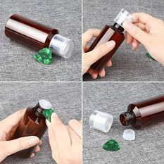 4 Pcs Refillable Plastic Bottles Refillable Container with Fine Mist Sprayers 2