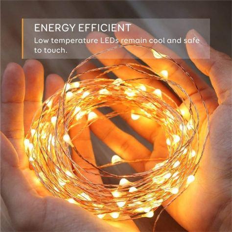 50 LEDS Decorative Battery Powered Fairy Lighting 1