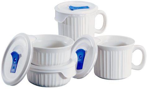 8-Piece CorningWare Pop-Ins Mug Set