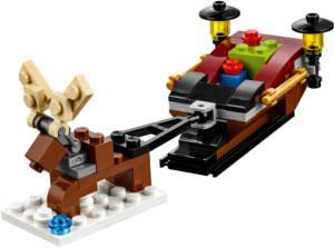 LEGO-Reindeer-Sleigh