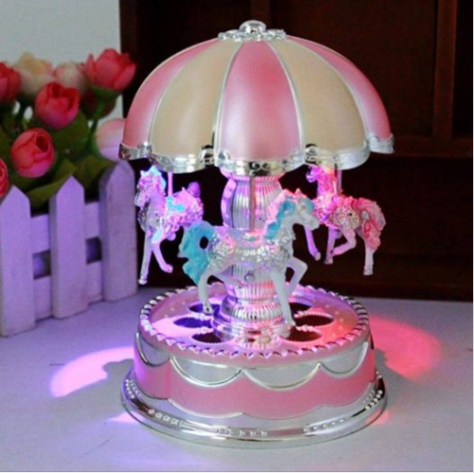 Merry-Go-Round Music Box Luxury Color Change LED Light.png