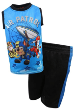 Paw Patrol Boys 2-Piece Sublimation Tank Top and Shorts Set 1