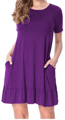 Womens Casual Tunic Dresses