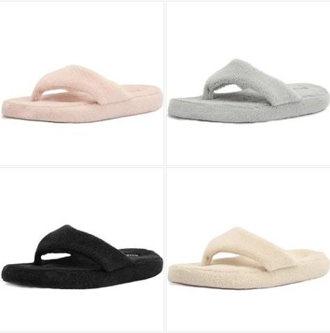 aee8e440e Women s Cozy Memory Foam Spa Thong Flip Flops House Indoor Slippers