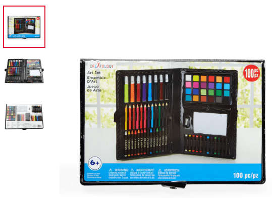 Michael's : 100 Piece Kids Art Set By Creatology Just $1.50 + Free Store Pickup! (Reg. Price $5.00)