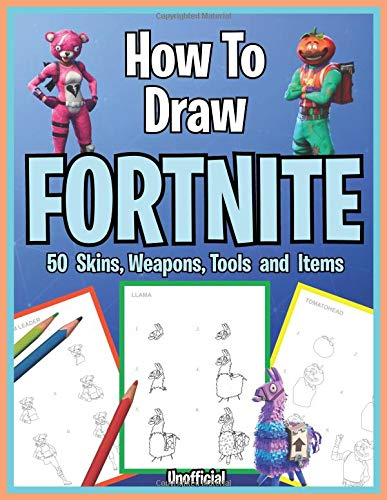 How to Draw Fortnite. 50 Skins