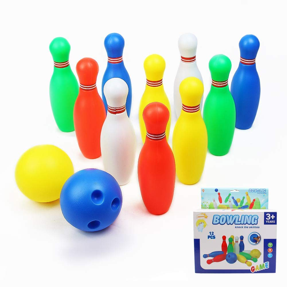 Deals Finders   Amazon : Mini Bowling Toy Set Just $7 09 W