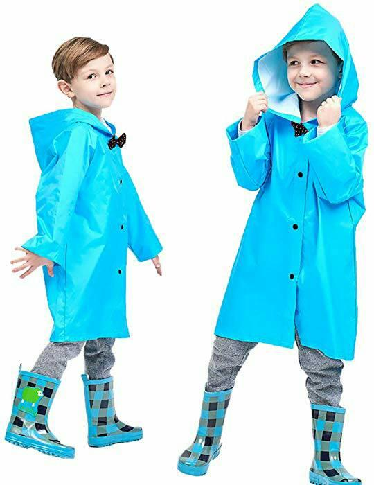 Amazon: Kids Rain Jacket Age 2-10 Dinosaur Shaped Lightweight Rainwear for Boy for Girl for $5.10 with code