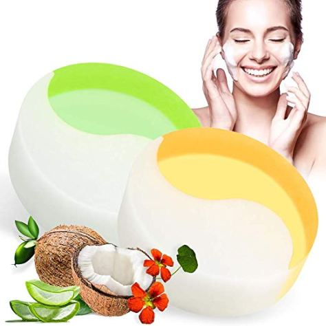 2 Pack Silk Face Soap