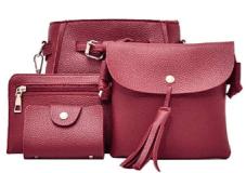 4pcs Women Fashion Composite Bag Handbag