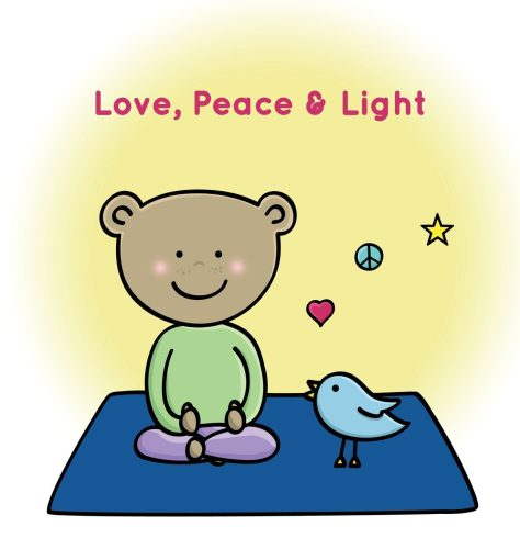 Love, Peace & Light Hardcover