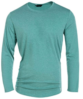 Men Casual Basic Top O-Neck Slim Fit Soft Cotton Pullover T-Shirt 1