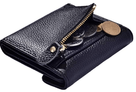 Women's Small Compact Bifold Card Wallet B 1.png