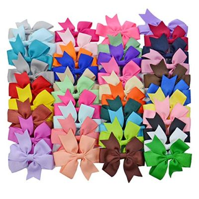 Amazon : 40PCS Boutique Barrette Hair Bows for Teens Babies Girls (3 Inch bow) Just $10.45 (As of 2/16/2019 2.06 PM CST)