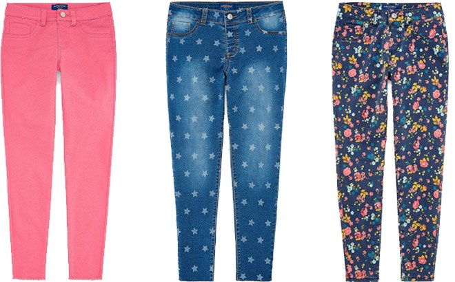 Jcpenney : Super Flex Jeggings Girls 7-16 and Plus Just $4.49 W/Code (Reg : $5.99)