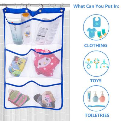 Amazon : Bathrooms Toiletries Hanging Bags with 6 Pockets Just $4.39 W/Code (Reg : $7.99) (As of 2/19/2019 7.34 PM CST)