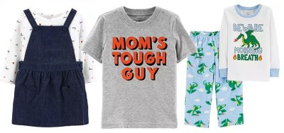 Carter's: Extra 40% Off Clearance Items Starting at Just $2 (Today & Online Only)