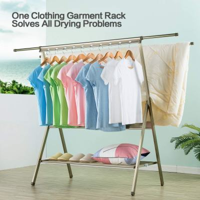 Amazon : Folding Retractable Aluminum Alloy Garment Drying Racks for Easy Storage Just $24.79 W/Code (Reg : $61.99) (As of 2/16/20194.38 PM CST)