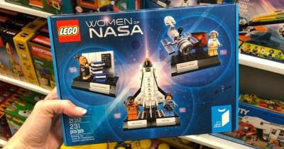 LEGO Ideas Women of NASA Set Only $15.99 (Regularly $25)