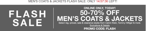 Macy's – Men's Coats Flash Sale Up To 70% Off + Extra 50% -70% Off!.png 1
