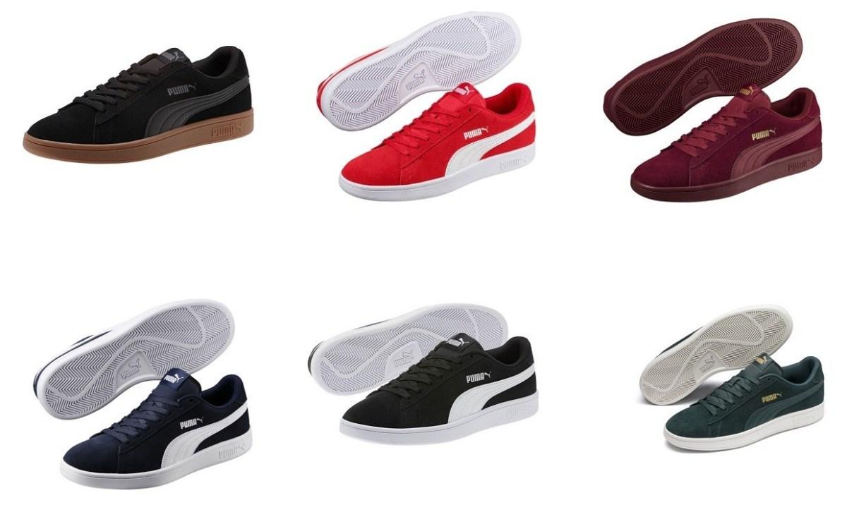 SALE! $19.99 (Reg : $55) PUMA Smash v2 Sneakers