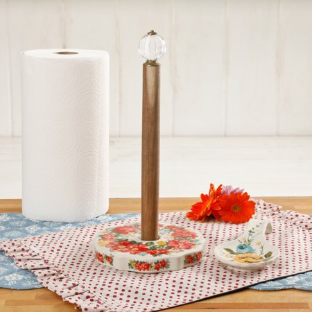 The Pioneer Woman Vintage Floral Paper Towel Holder.jpeg