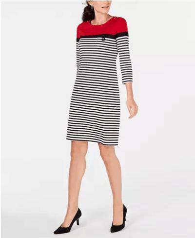 Macy's : 3/4-Sleeve Lola Dress Just $13.33 (Reg : $44.50)