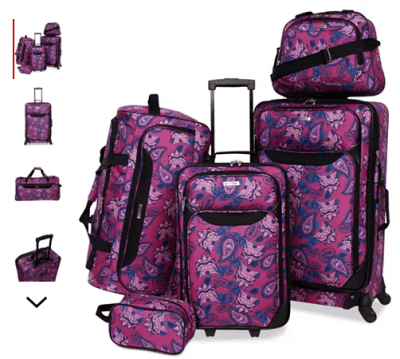 Macy's : 5-Pc. Luggage Set Just $57.99 (Reg : $240)