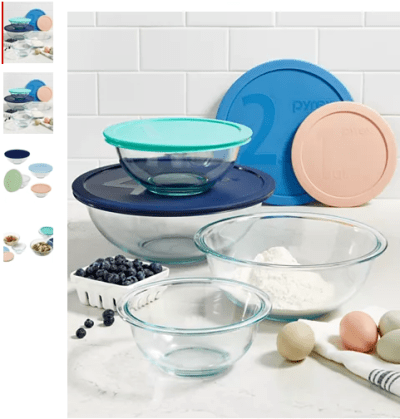 Macy's : 8-Pc. Mixing Bowl Set Just $12.99 (Reg : $42.99)