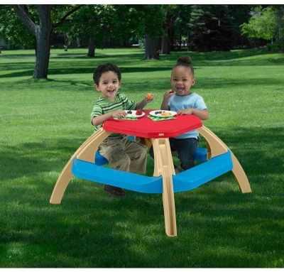 Walmart : American Plastic Toys Kid's Picnic Table Just $14.97 (Reg : $32.99)