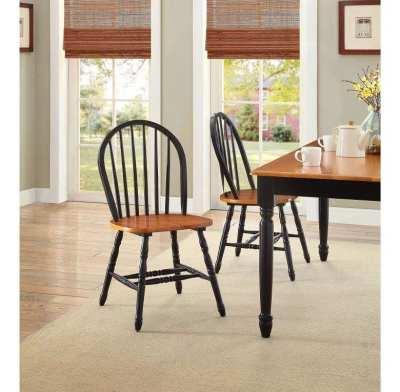 Walmart : Better Homes and Gardens Autumn Lane Windsor Chairs, Set of 2 Just $69.90 (Reg $109.99)