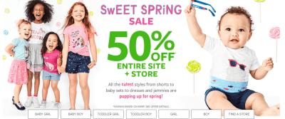 Carter's & OshKosh : Baby Tees & Leggings Just $2.99 (Reg : $12)