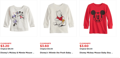 Kohl's : Baby Clearance & Disney Baby Apparel AS LOW AS $3.20!!