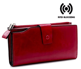 Amazon : Large Capacity Luxury Genuine Leather Clutch Wallet Just $16.79 W/Code (Reg : $27.99) (As of 3/18/2019 8.58 PM CDT)