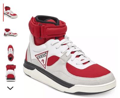 Macy's : Men's Woody High-Top Sneakers Just $25.93 (Reg : $100)