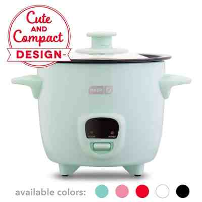 Amazon : Mini Rice Cooker Steamer with Removable Nonstick Pot Just $16.98 (Reg : $23.99) (As of 3/24/2019 11.08 AM CDT)