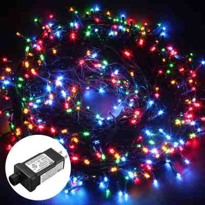 Amazon : Safe Low Voltage 500 LEDs 100M/328FT Dimmable Fairy String Lights with 8 Modes Just $3 W/Code (Reg : $19.99) (As of 3/19/2019 9.57 PM CDT)