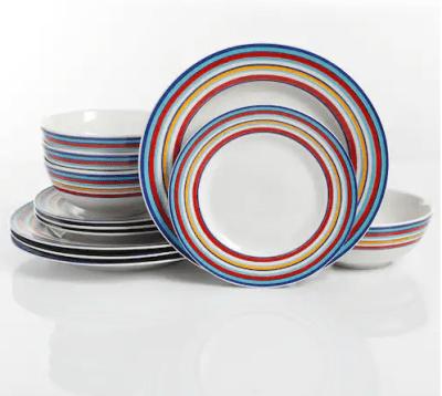 Kohl's : SALE! $24.99 (Reg $59.99) 12-piece Dinnerware Set!!