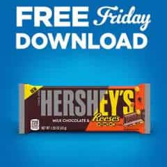 FREE Hershey's Milk Chocolate with Reese's Pieces Bar at Kroger