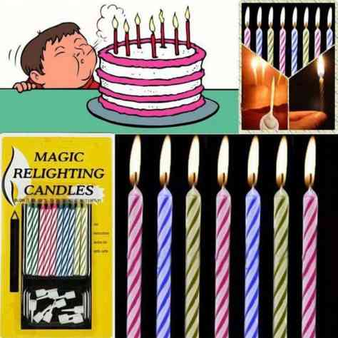 Amazon 2 Pack Relighting Birthday Candles 10 Per Package Just 3 W Code Reg 1499 As Of 4 13 2019 938 PM CDT