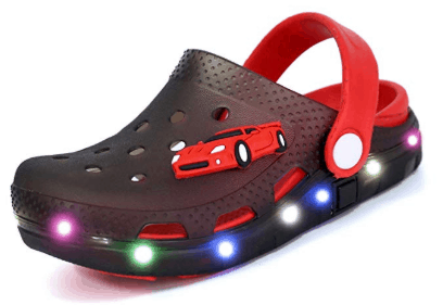 Amazon : LED Clogs Flash Lighted Sandals Just $8.82 W/Code (Reg : $17.99) (As of 4/22/2019 10.45 AM CDT)