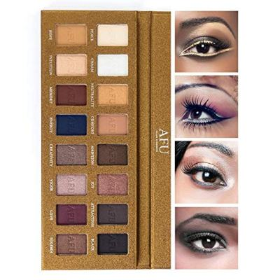 Amazon : High Pigmented Eyeshadow Palette Matte + Shimmer 16 Colors Makeup Just $6.99 W/Code (Reg : $13.99) (As of 4/18/2019 9.18 AM CDT)