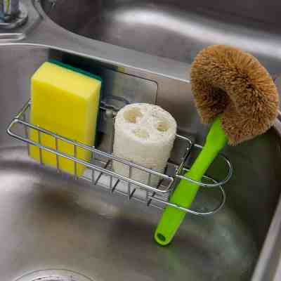 Amazon : Stainless Steel 3-in-1 Sponge Holder for Kitchen Sink Just $7.95 W/Code (Reg : $15.90) (As of 4/13/2019 5.44 PM CDT)