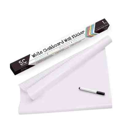 Amazon : Stone and Clark White Self-Adhesive Dry Erase Paper/Whiteboard Sticker Just $5.40 W/Code (Reg : 17.99) (As of 4/23/2019 8.52 PM CDT)