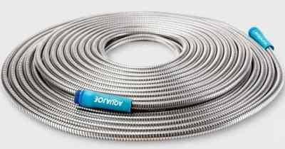 Sun Joe 100′ Heavy-Duty Stainless Steel Garden Hose Just $39.99 Shipped (Regularly $72)